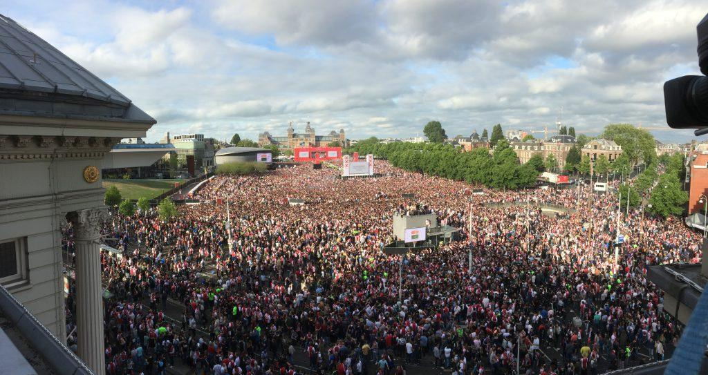 Ajax public viewing