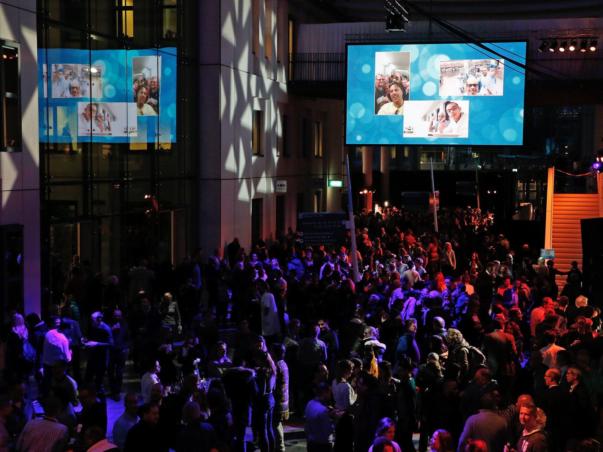 Erasmus Ziekenhuis New Year's Event 2016